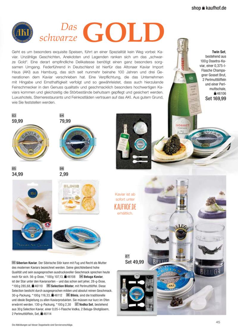 Galeria Kaufhof Prospekt vom 30.10.2017, Seite 44