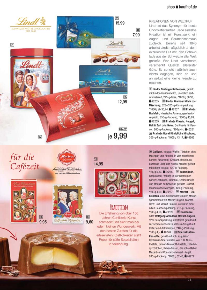 Galeria Kaufhof Prospekt vom 30.10.2017, Seite 72