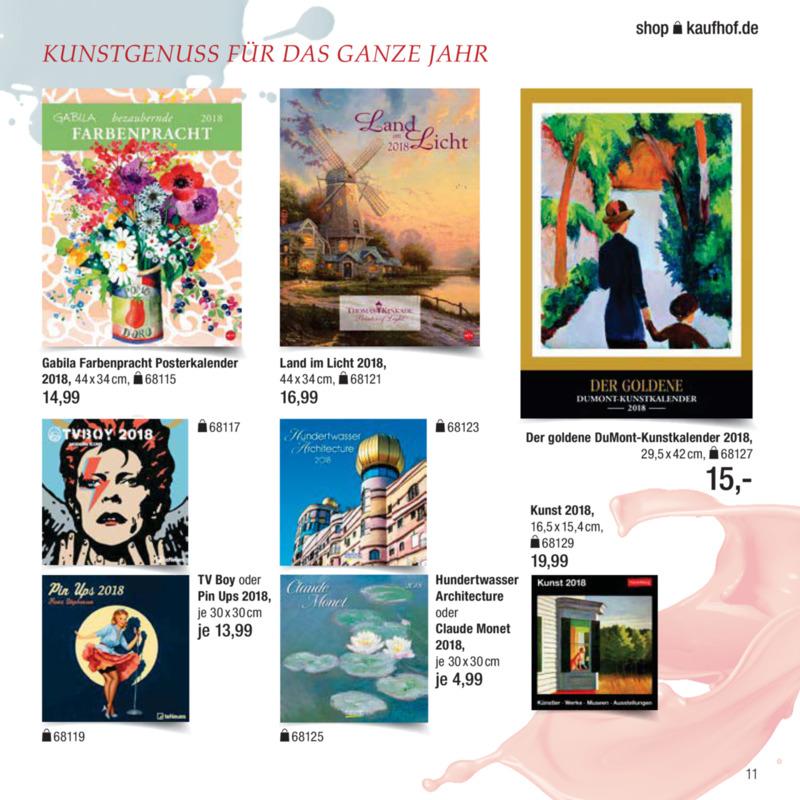 Galeria Kaufhof Prospekt vom 09.11.2017, Seite 10