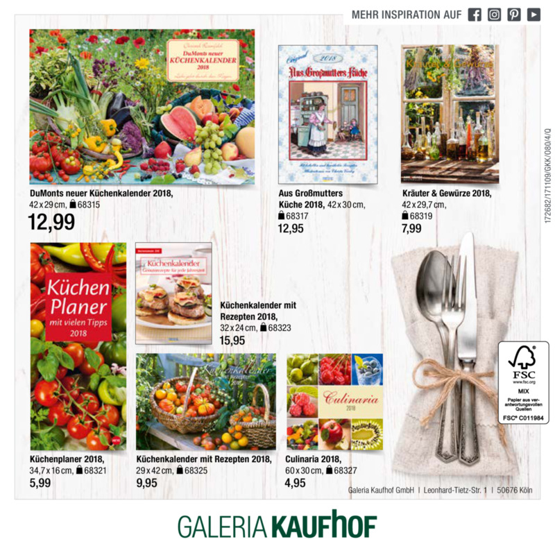 Galeria Kaufhof Prospekt vom 09.11.2017, Seite 23