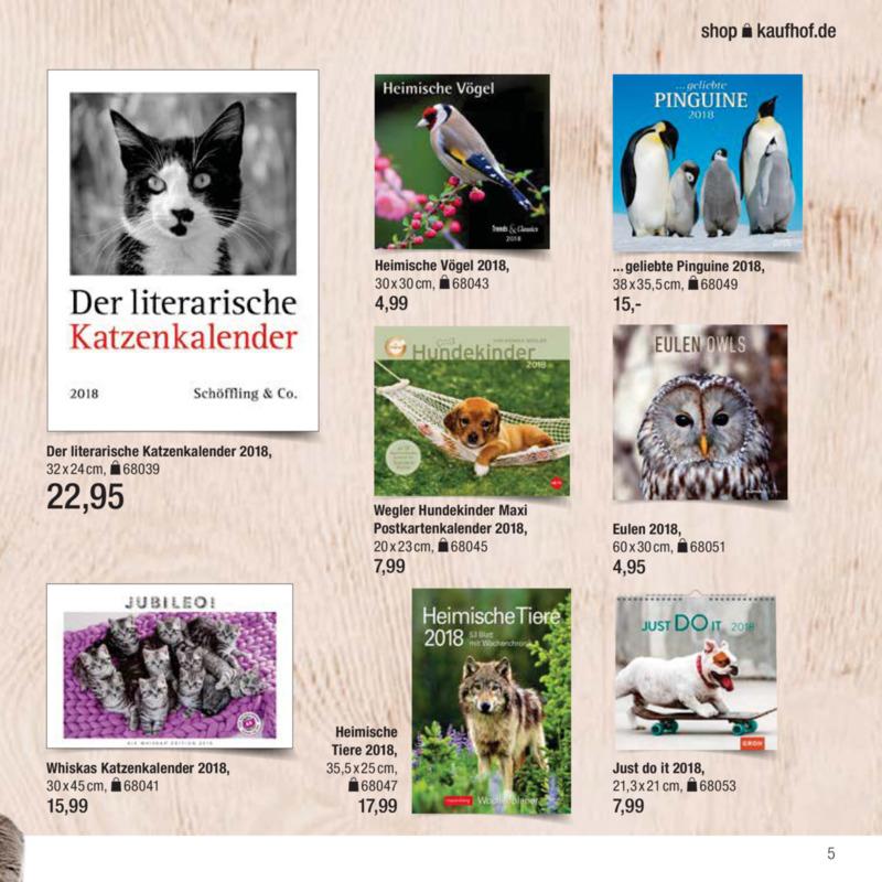 Galeria Kaufhof Prospekt vom 09.11.2017, Seite 4