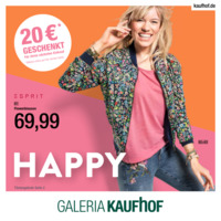 Galeria Kaufhof Prospekt vom 07.03.2018