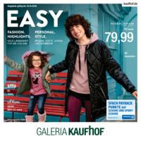 Galeria Kaufhof Prospekt vom 10.10.2018