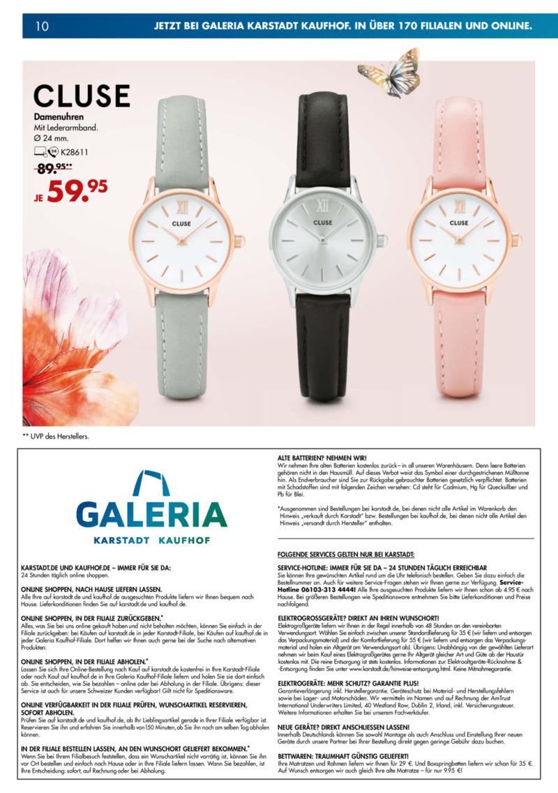 Galeria Kaufhof Prospekt vom 10.04.2019, Seite 9