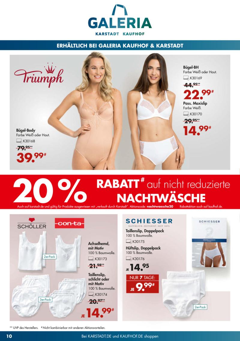 Galeria Kaufhof Prospekt vom 23.04.2019, Seite 9