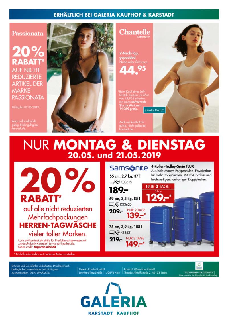 Galeria Kaufhof Prospekt vom 15.05.2019, Seite 51