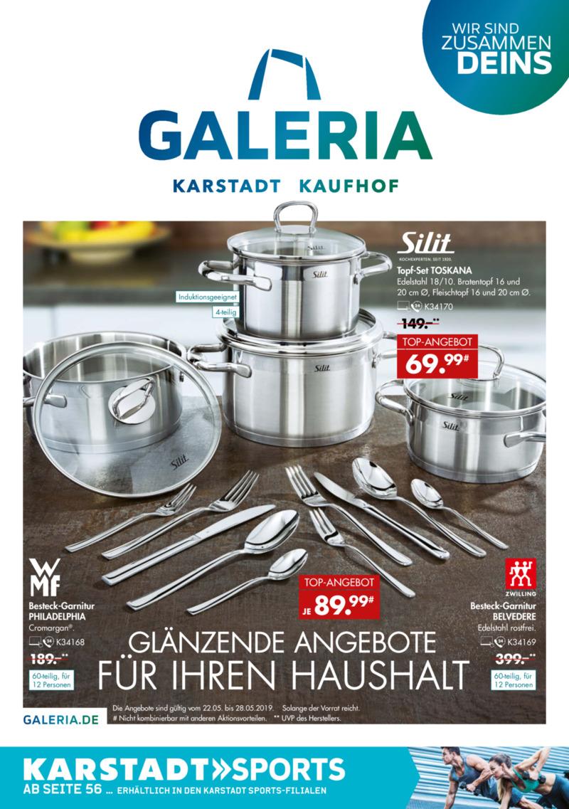 Galeria Kaufhof Prospekt vom 22.05.2019, Seite