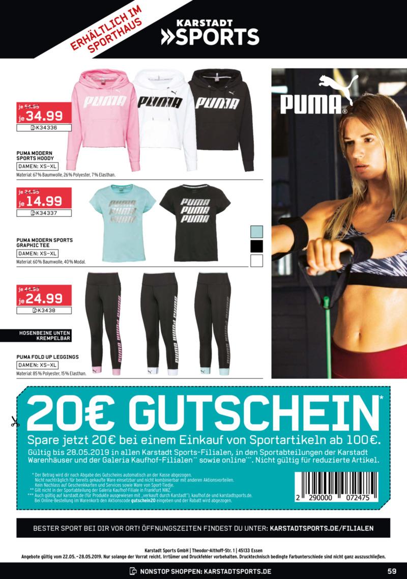 Galeria Kaufhof Prospekt vom 22.05.2019, Seite 58