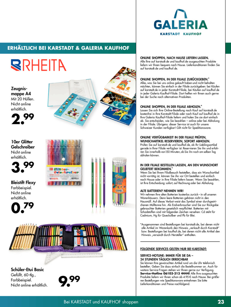 Galeria Kaufhof Prospekt vom 28.05.2019, Seite 22