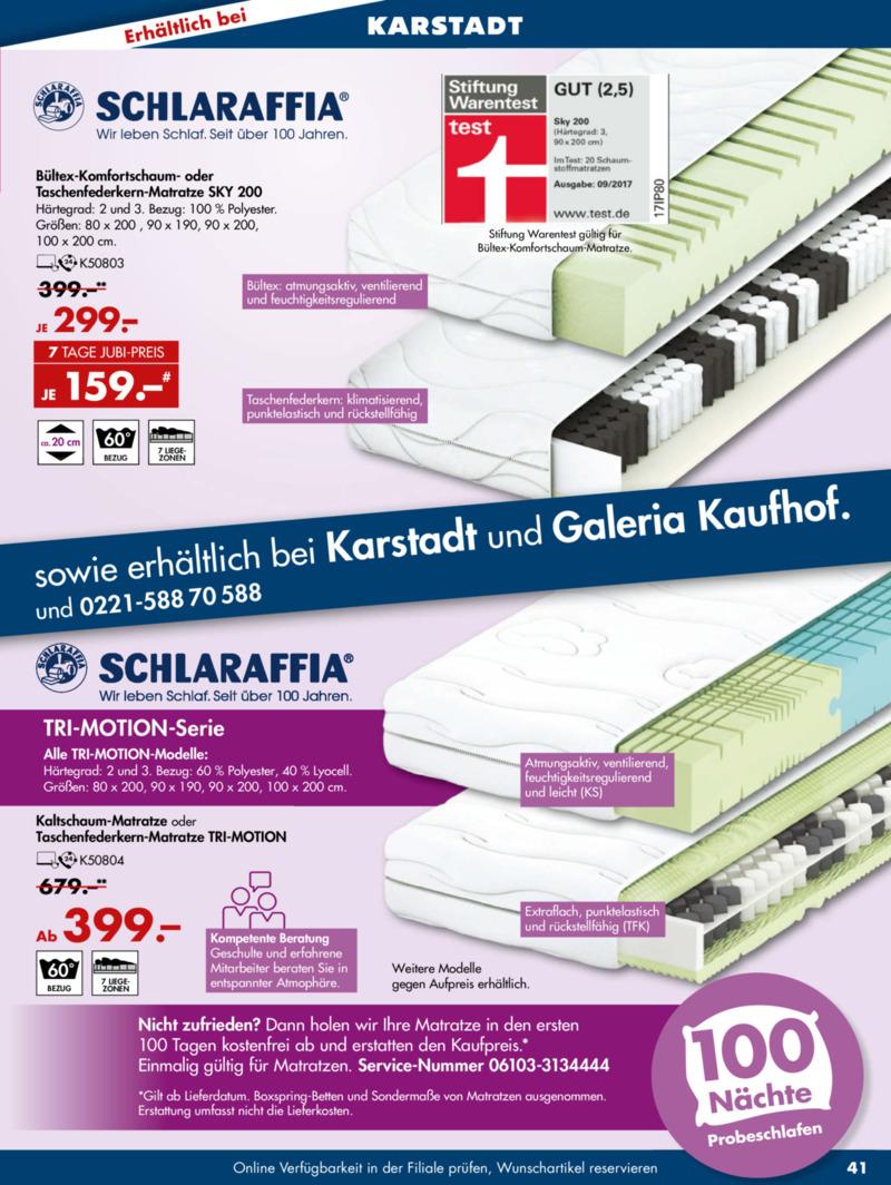 Galeria Kaufhof Prospekt vom 11.09.2019, Seite 40