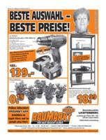 Globus Baumarkt Prospekt vom 22.08.2016