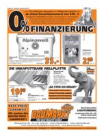 Globus Baumarkt Prospekt vom 19.09.2016