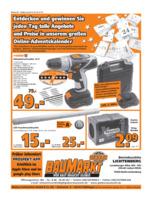 Globus Baumarkt Prospekt vom 05.12.2016