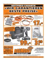 Globus Baumarkt Prospekt vom 16.01.2017