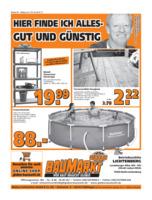 Globus Baumarkt Prospekt vom 17.07.2017