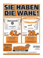 Globus Baumarkt Prospekt vom 24.07.2017