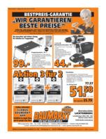 Globus Baumarkt Prospekt vom 16.07.2018