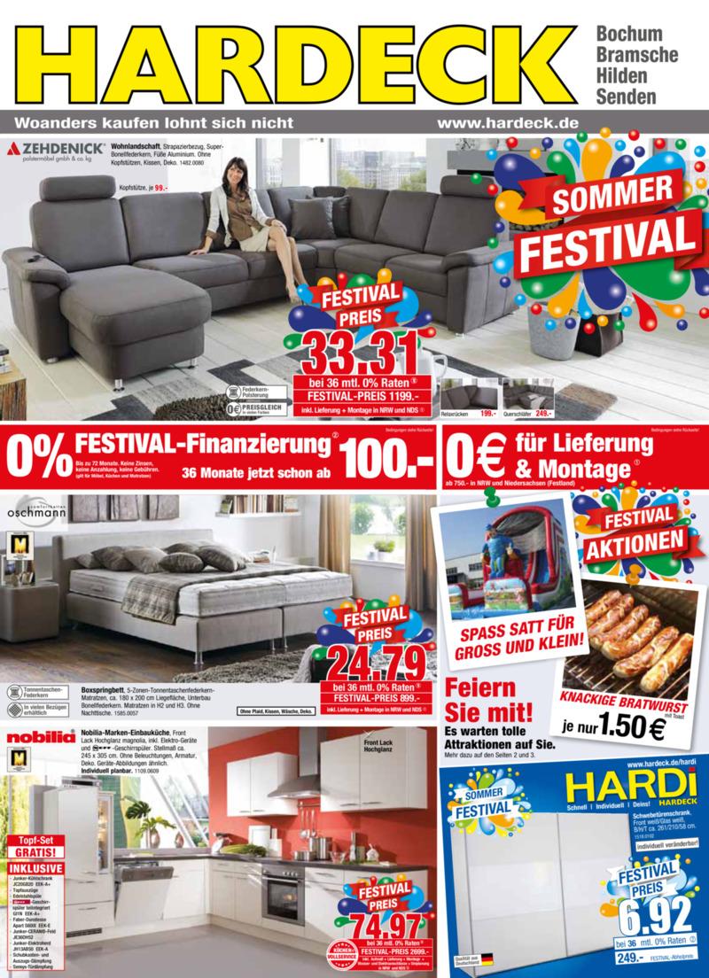 hardeck prospekt vom bis bl ttern. Black Bedroom Furniture Sets. Home Design Ideas
