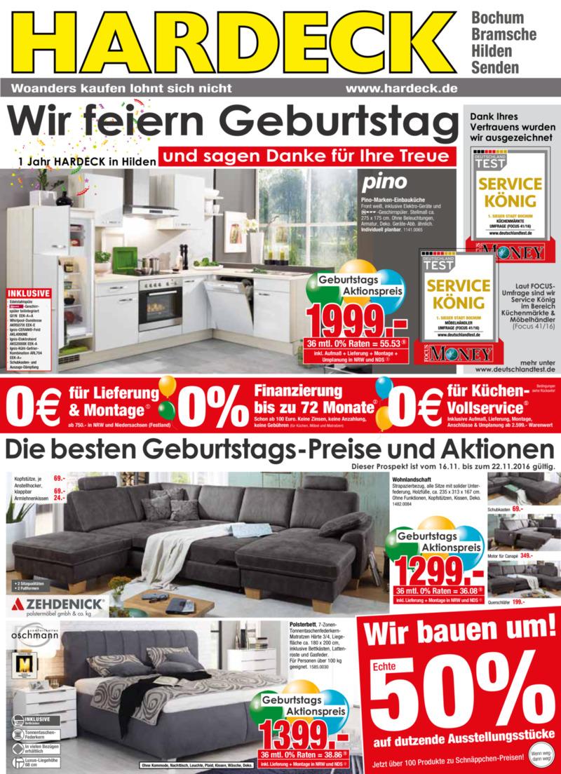 alle hardeck prospekte online finden. Black Bedroom Furniture Sets. Home Design Ideas
