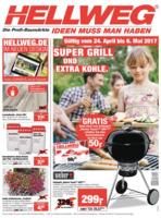 Hellweg Prospekt vom 24.04.2017