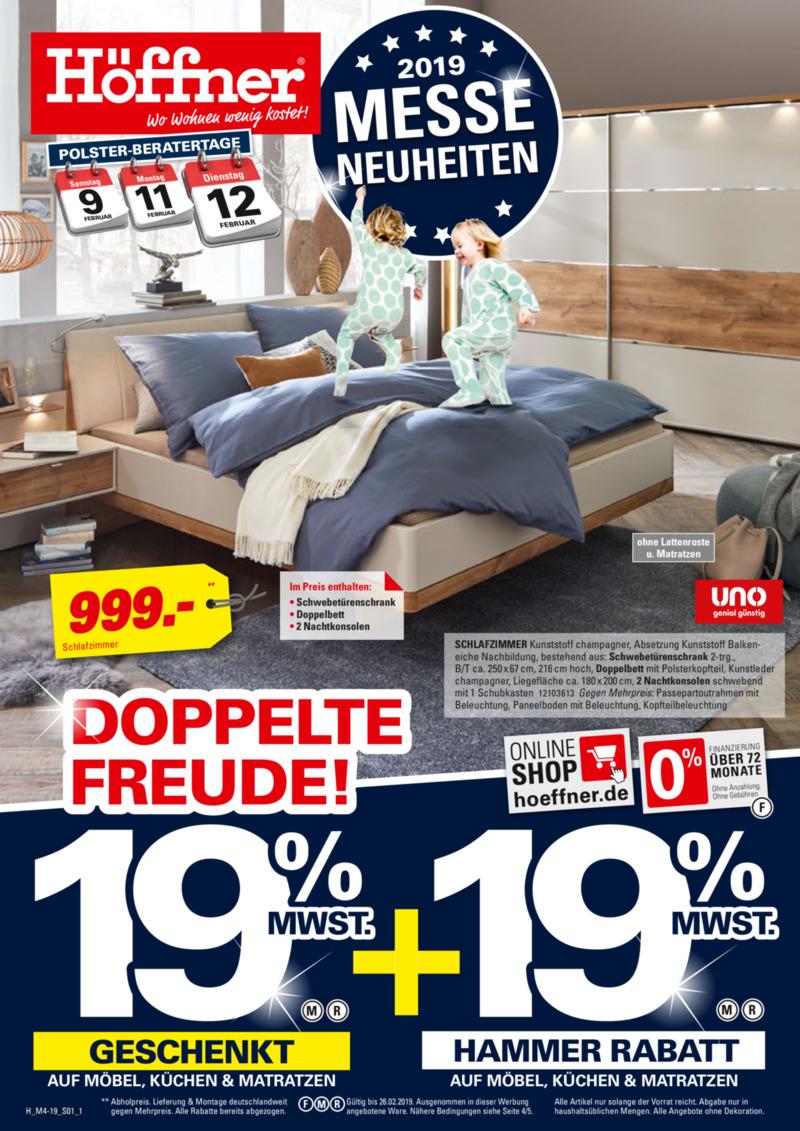 Höffner Prospekt vom 06.02.2019, Seite