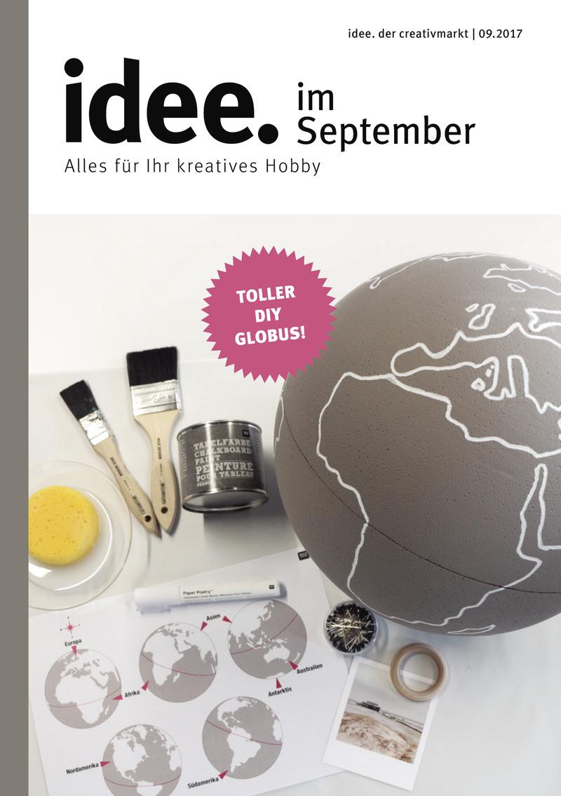 idee. der creativmarkt Prospekt vom 01.09.2017, Seite