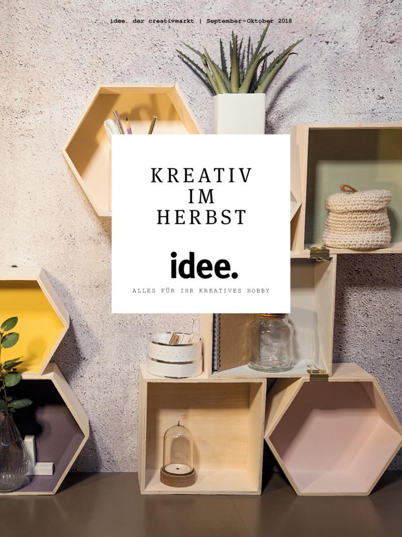 idee. der creativmarkt Prospekt vom 01.09.2018