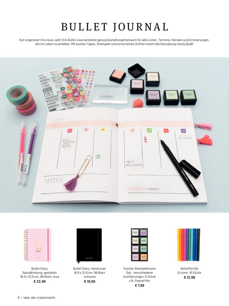 idee. der creativmarkt Prospekt vom 01.01.2020, Seite 7