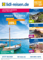 Lidl-Reisen Prospekt vom 17.05.2016