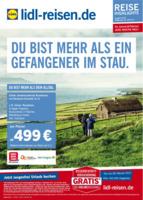Lidl-Reisen Prospekt vom 16.01.2017