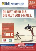 Lidl-Reisen Prospekt vom 20.02.2017