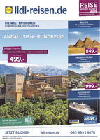 Lidl-Reisen Prospekt vom 15.04.2017