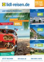Lidl-Reisen Prospekt vom 15.05.2017