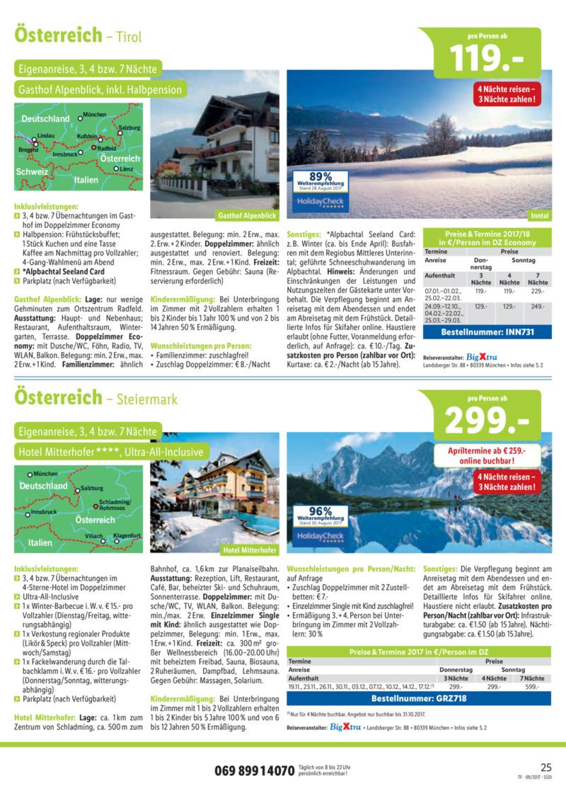 Lidl-Reisen Prospekt vom 15.09.2017, Seite 24
