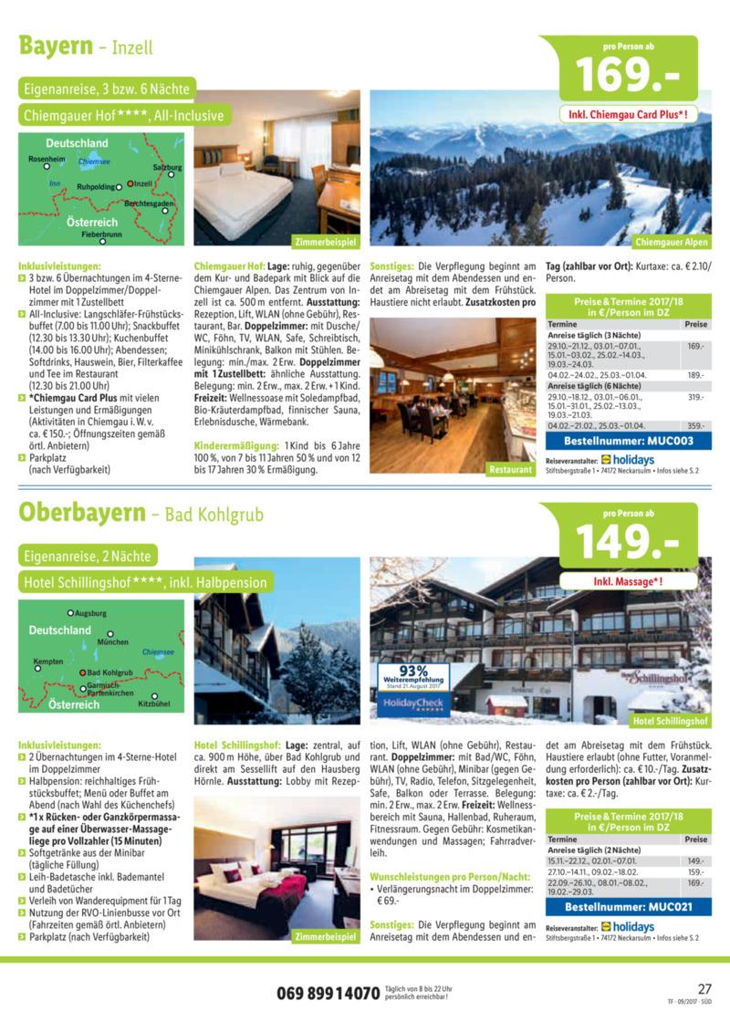 Lidl-Reisen Prospekt vom 15.09.2017, Seite 26