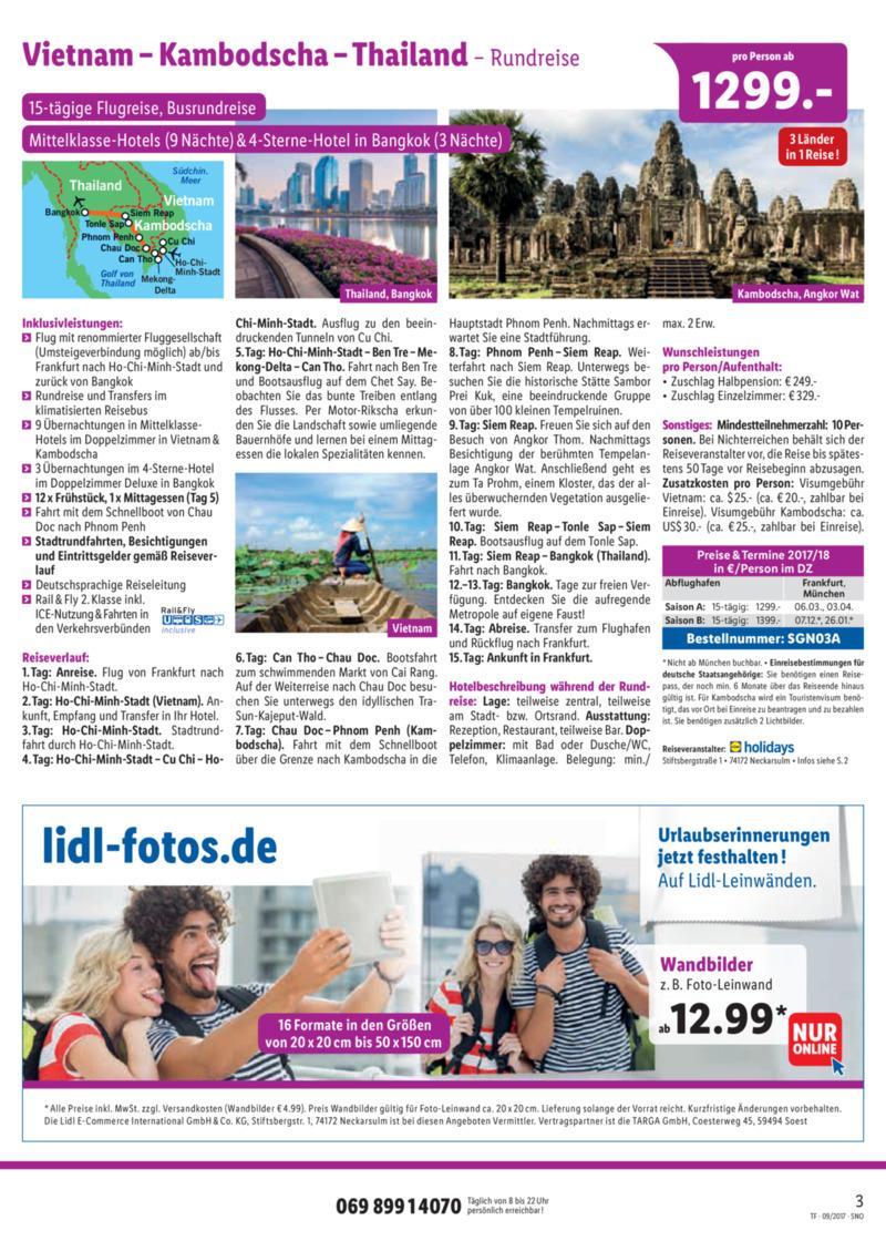 Lidl-Reisen Prospekt vom 15.09.2017, Seite 2