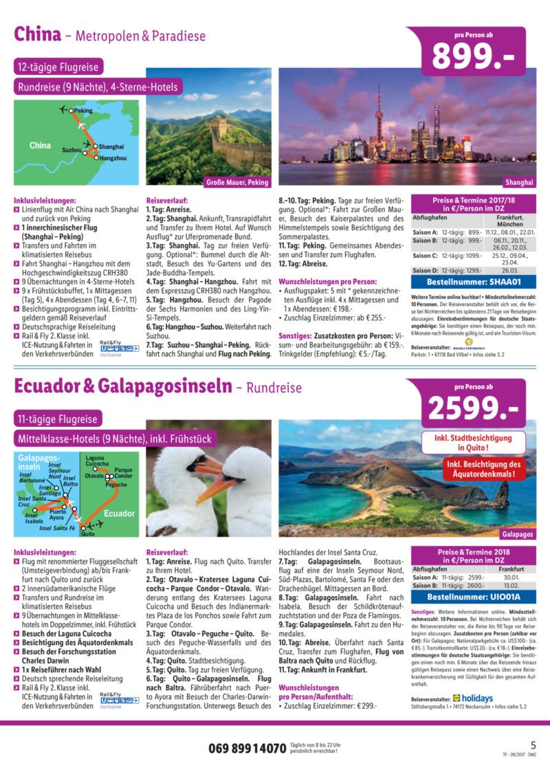 Lidl-Reisen Prospekt vom 15.09.2017, Seite 4