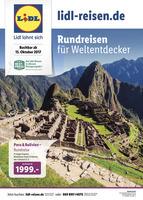 Lidl-Reisen Prospekt vom 16.10.2017