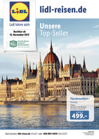 Lidl-Reisen Prospekt vom 15.11.2017