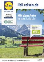 Lidl-Reisen Prospekt vom 15.03.2018