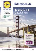Lidl-Reisen Prospekt vom 16.04.2018