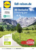 Lidl-Reisen Prospekt vom 15.06.2018