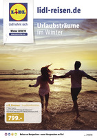 Lidl-Reisen Prospekt vom 13.07.2018