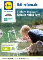 Lidl-Reisen Prospekt vom 15.08.2018