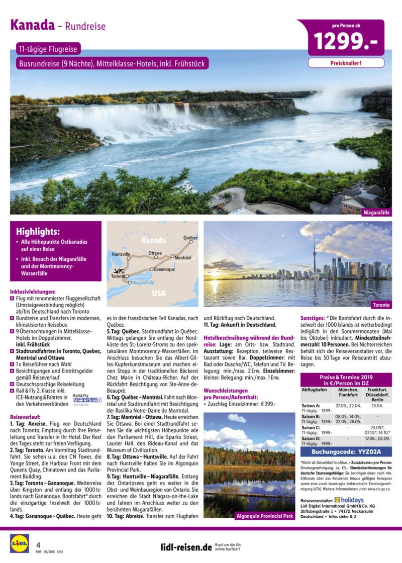 Lidl-Reisen Prospekt vom 01.09.2018, Seite 3