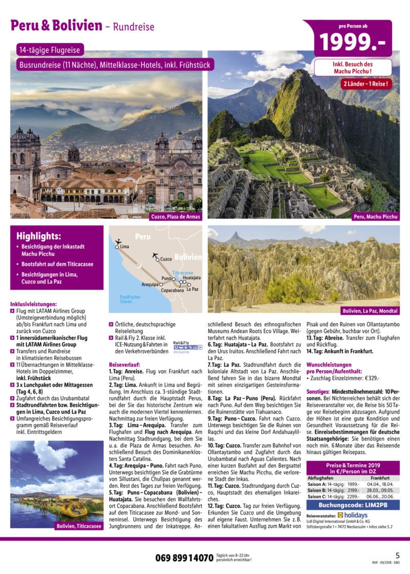 Lidl-Reisen Prospekt vom 01.09.2018, Seite 4