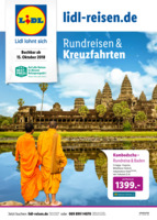 Lidl-Reisen Prospekt vom 15.10.2018