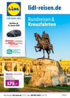 Lidl-Reisen Prospekt vom 15.01.2019