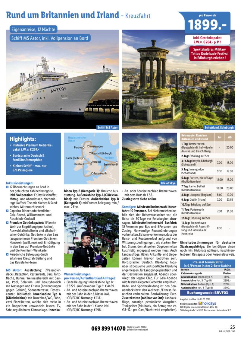 Lidl-Reisen Prospekt vom 01.02.2019, Seite 24