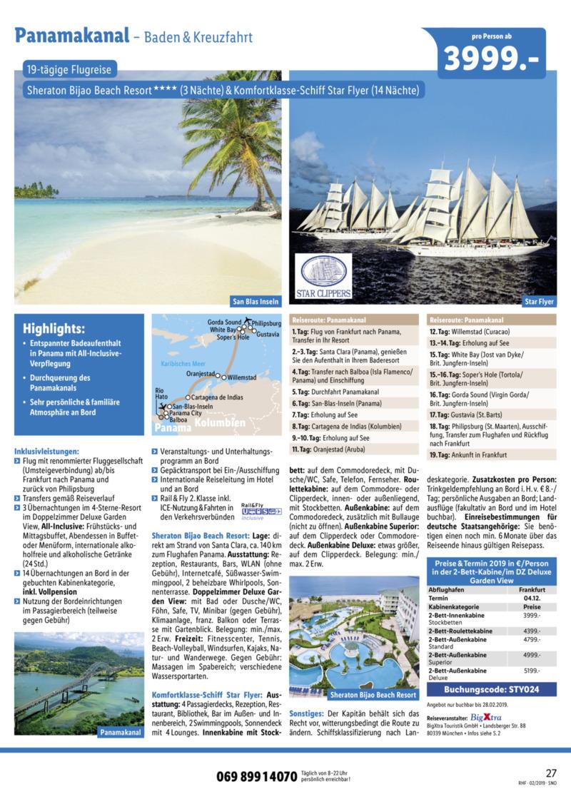 Lidl-Reisen Prospekt vom 01.02.2019, Seite 26